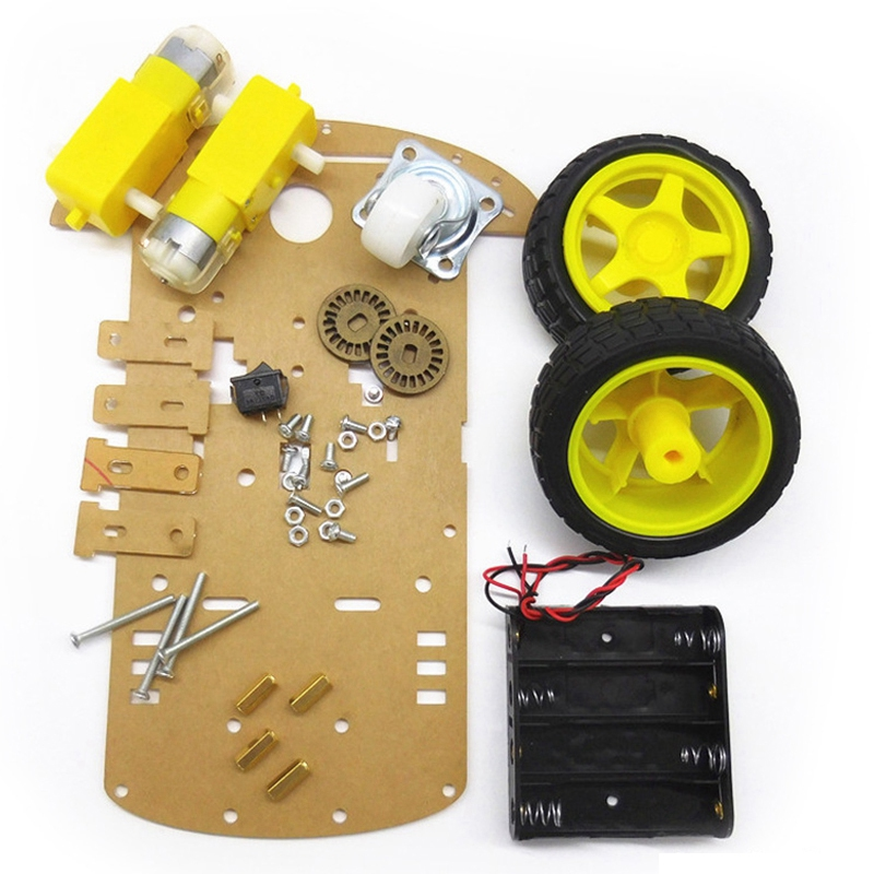 Smart Arduino Robot Kit With Uno R3 Ultrasonic Sensor And Bluetooth Module For Arduino
