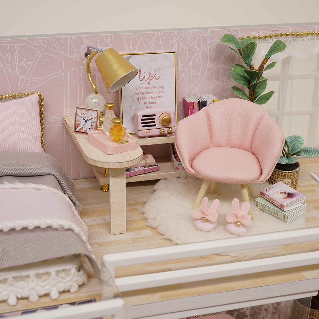 The Girlish Dream DIY 3D Miniature Dollhouse Kit