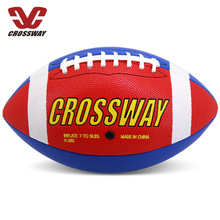 Newest Size 9 Rugby Ball Foam Brown Anti-stress Rugby Soccer Squeeze Ball Toy Outdoor Training American Football Stress Reliever