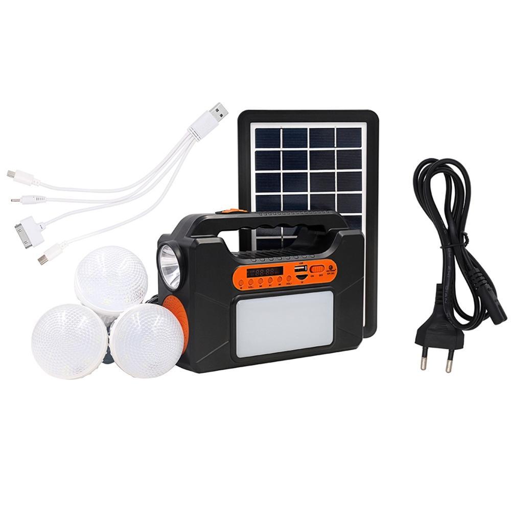 Alto falante leve play música da lâmpada oradores sem fio conduzidos inteligentes de bluetooth do bulbo com painel solar