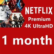 1 месяц Netflix Ultra HD для 4 экрана с гарантией 1 месяц работа на ПК Smart TV приставки Android IOS планшеты ПК