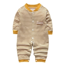 Fashion Toddler Baby Clothes Autumn Long Sleeve Cotton Infants Girls Clothing Romper Cartoon Costume Newborn Boy Girl Jumpsuit 2017 newborn baby boy winter long sleeve cotton clothing toddler baby clothes romper warm cartoon jumpsuit for 0 12 months