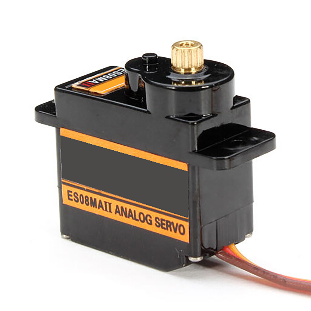 HIINST 1pcs EMAX ES08MA II Mini Metal Gear Analog Servo 12g/ 2.0kg/ 0.12 Sec Mg90S For  Toy Boats Helicopters Drones Also DIY