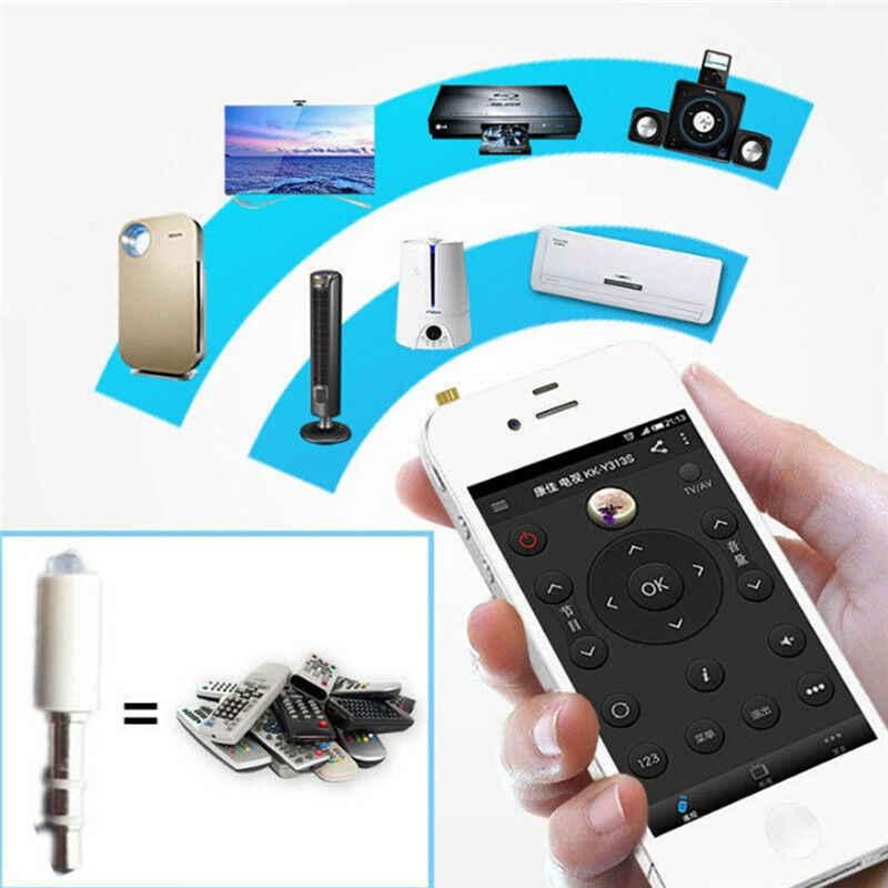 1Pc 3.5Mm Jack Infrarood Afstandsbediening Voor Mobiele Telefoon Smart Ir Afstandsbediening Plug Voor Ios Iphone Voor samsung
