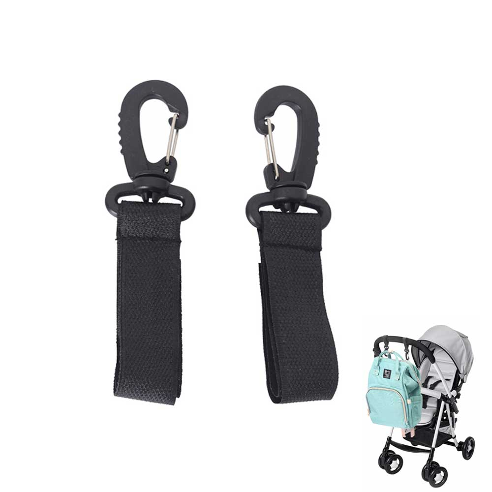 2pcs/lot Stroller Hook Wheelchairs Stroller Pram Carriage Bag Hanger Hook 360 Degree Rotate Cart Hook Stroller Accessories