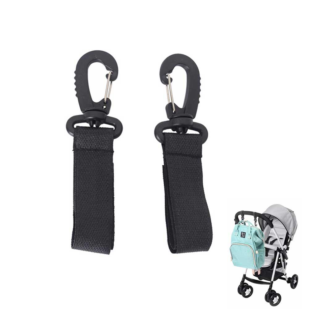 2pcs/lot Stroller Hook Wheelchairs Stroller Pram Carriage Bag Hanger Hook 360 Degree Rotate Cart Hook Stroller Accessories