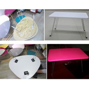"""Image 2 - 4 szt. 14 """"Heavy Duty szpilka biurko na laptopa składane nogi składane nogi do stolika na kawę"""