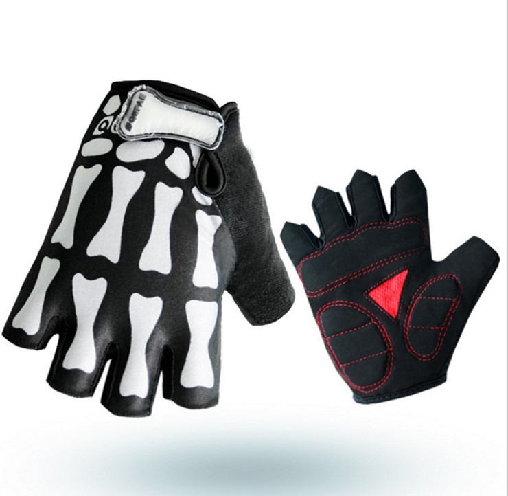 CYCLE ZONE Outdoor Sports Antiskid Cycling Bike Fitness Sports Half Finger Gloves new Road Bike Gloves Men Women Cycling Gloves in Cycling Gloves from Sports Entertainment