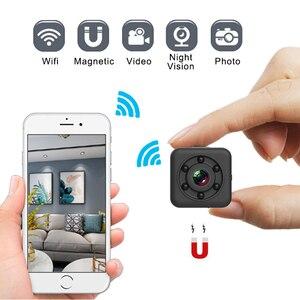 Image 1 - New SQ29 Wifi Mini Camera Magnetic Body Micro Cam HD Video Voice Recorder Night Vision DV Small Camcorder Support Hidden TF Card