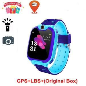 Image 4 - S10 키즈 스마트 시계 전화 다이얼 터치 스크린 카메라 게임 음악 재생 시계 SOS Smartwatch 설정 언어 Relogio Watch