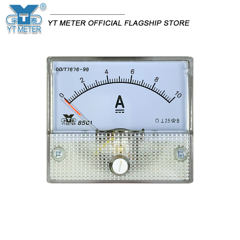 85c1-a dc ammeter milliammeter microammeter 50ua/200MA/1A/2A/3A/5A/10A/15A/20A Analog Panel amp direct Tester Pointer Current