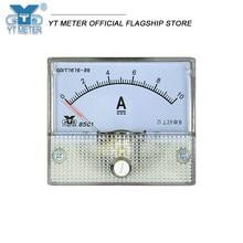 85c1-a dc amperímetro miliamperímetro microamperímetro 50ua/200ma/1a/2a/3a/5a/10a/15a/20a painel analógico amp testador ponteiro direto atual