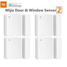 Original Xiaomi Door Window Sensor 2 Bluetooth 5.1 Light Detection Opening/Closing Records Overtime Unclosed Reminder Mijia App