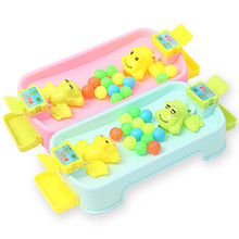 set Montessori Toys Educational Toys for Children Early Learning Frog Eat Beans Funny Games  Environment-friendly ABS ZLL