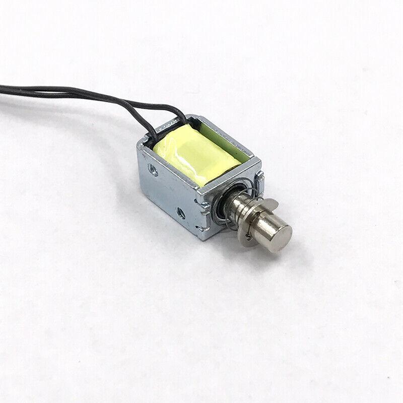 DC 3V 5V 12V Micro Solenoid Electromagnet Push Pull Through Type Electric Magnet For Household Appli