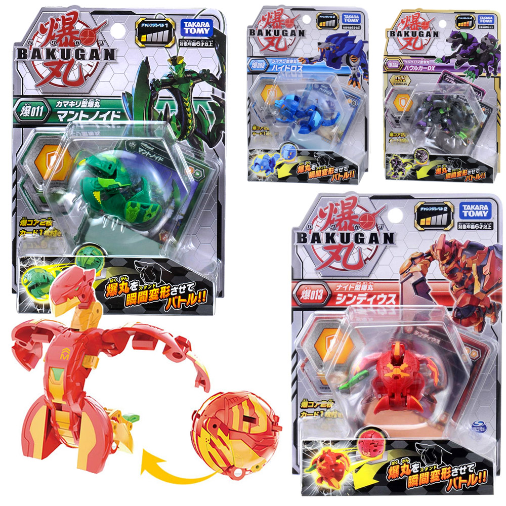 TAKARA TOMY Drago Bakugan Battle Brawlers Baku BakuCores Battle Planet Toy Batting Game Dragonoid Ball Children Gifts