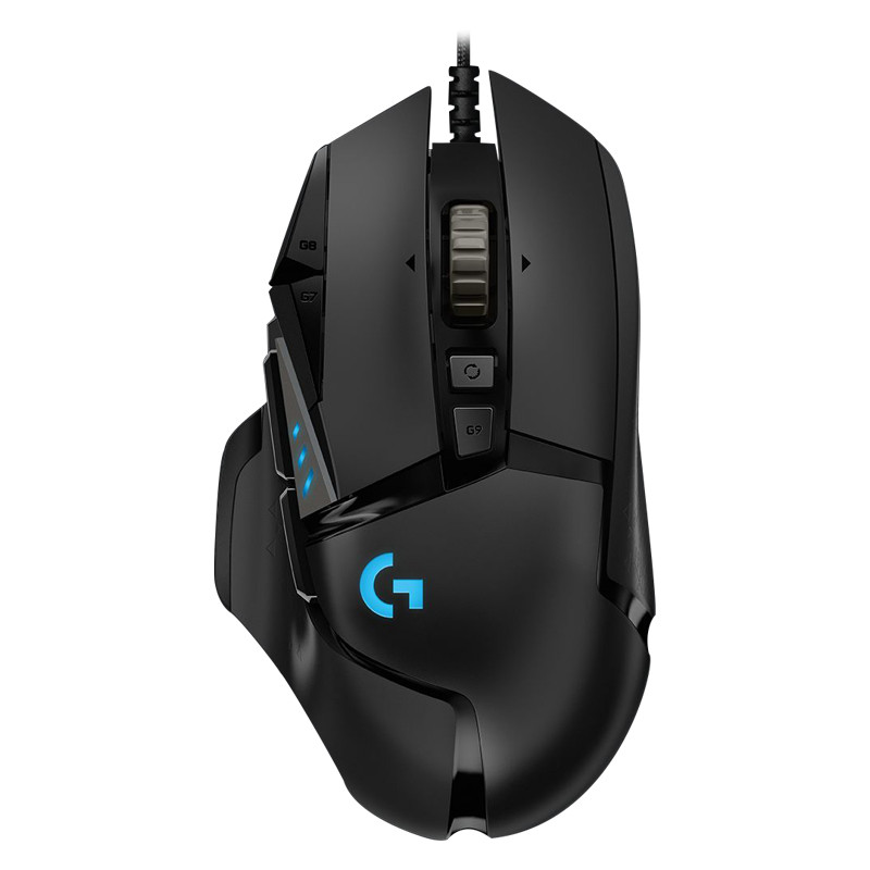Logitech G502 HERO Professional Gaming Mouse 16000DPI Programming Light Synchronizatio 11 Programmable Buttons 2.1m image