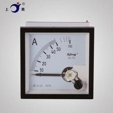 1 PIÈCES SJ-72 CP-72 SQ-72 CZ-72 AC 500/5A 750/5A 800/5A 1000/5A 2000/5A 100/5A 300/5A Panneau Analogique Ampèremètre Ampèremètre