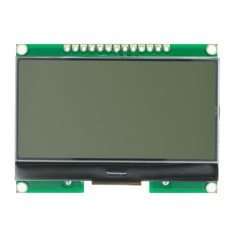 12864-06D, 12864, LCD module, COG, with Chinese font, dot matrix screen, SPI interface