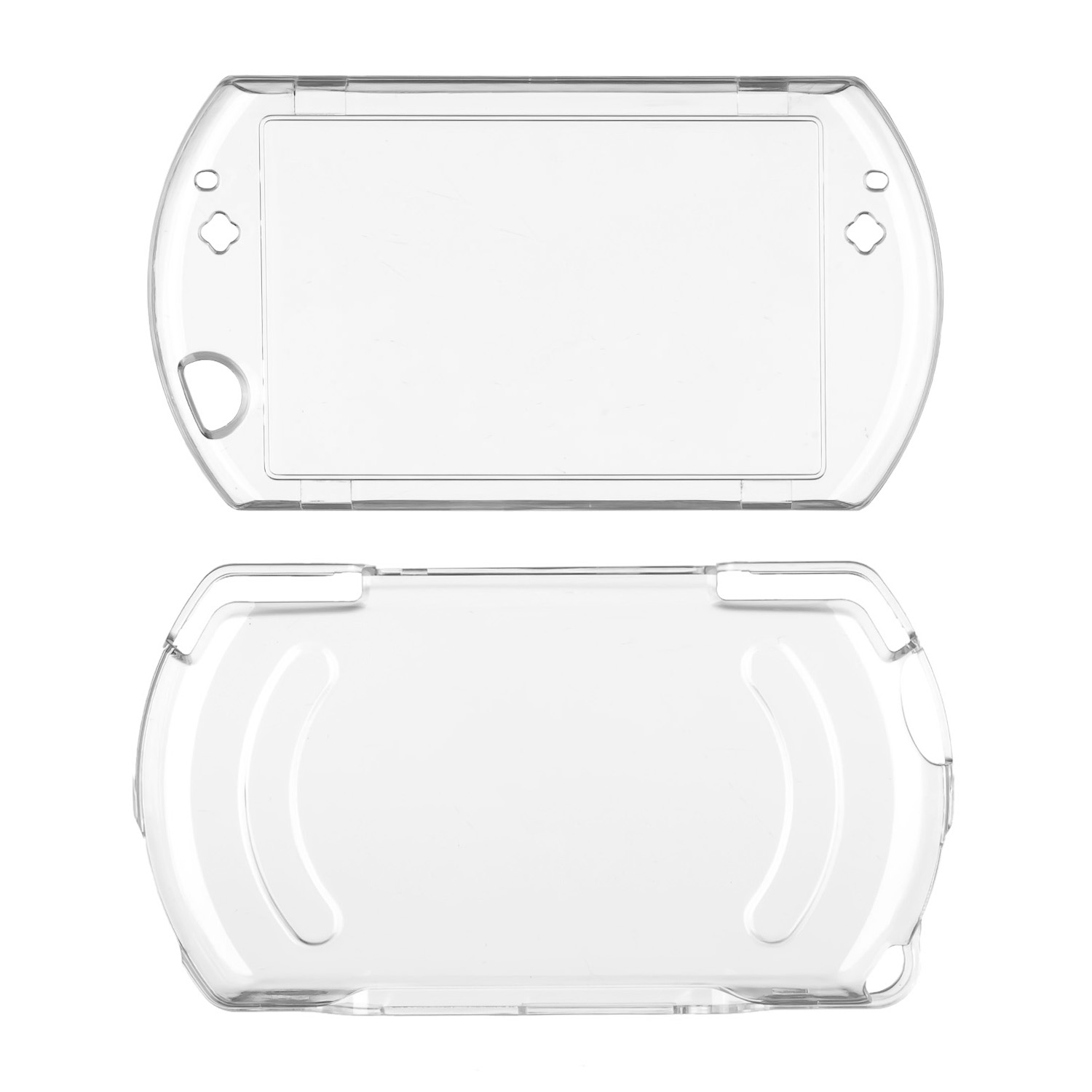 OSTENT Protector Clear Crystal Hard Case Cover Skin for Sony PSP Go