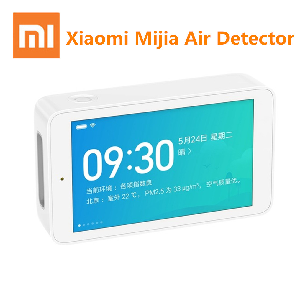 Xiaomi Mijia Air Quality Tester Remote Monitoring Smartmi PM2.5 Temperature And Humidity Measurement 3.97-inch HD Touch Screen