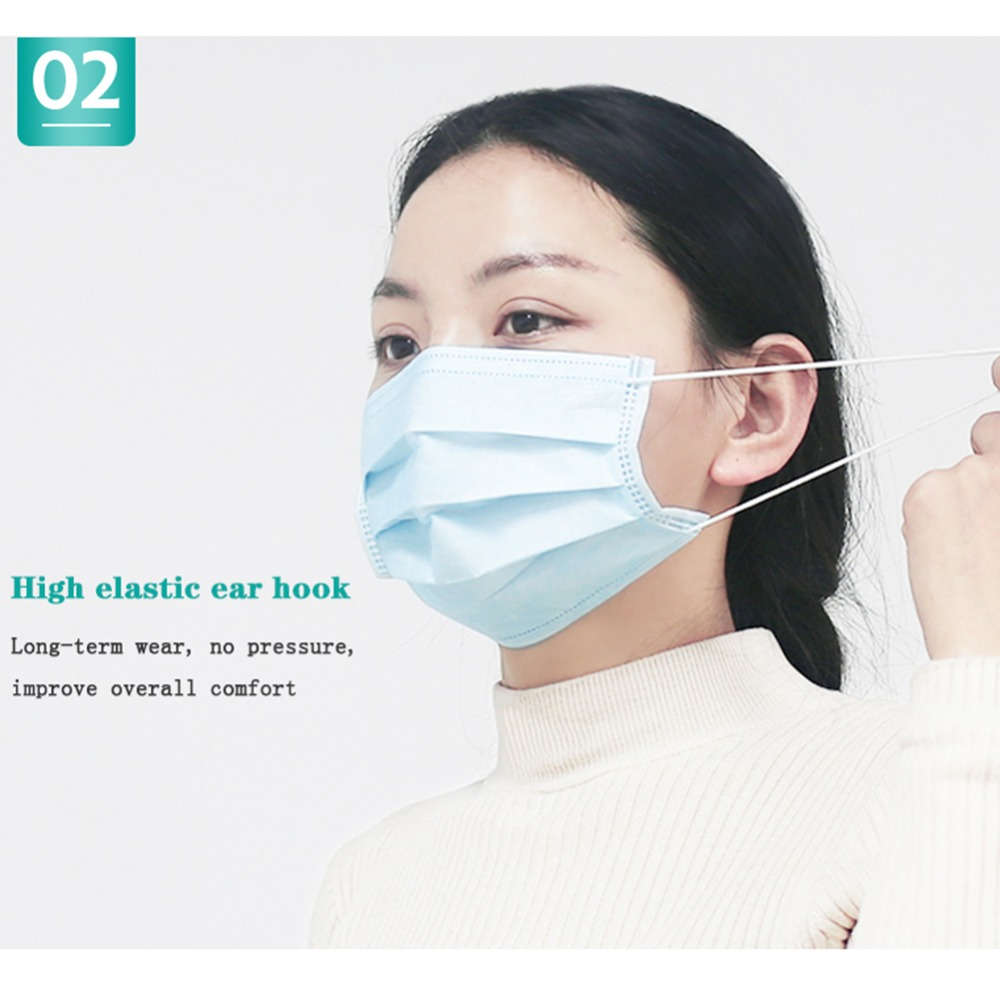 60Pcs-3-Ply-Anti-Dust-Disposable-Surgical-Medical-Earloop-Masks-Blue-Color-Mouth-Face-Mask (1)