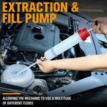 200cc wielofunkcyjna pompa ręczna do odsysania płynów samochodowych strzykawka próżniowa
