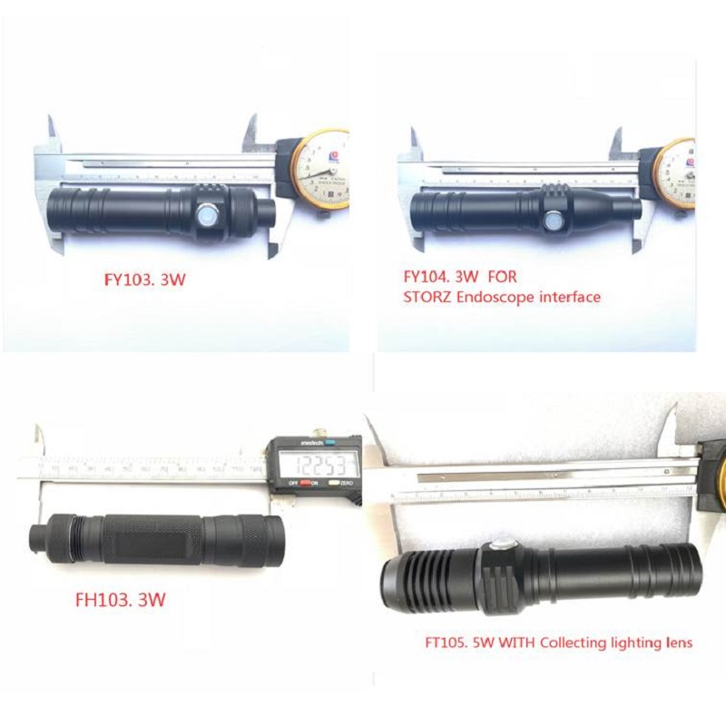 ENT Protable Lamp LED Endoscope Light Srouce Flashlight  Handheld Light Source/FT.FY.XX.kinds Of Handheld Light Source