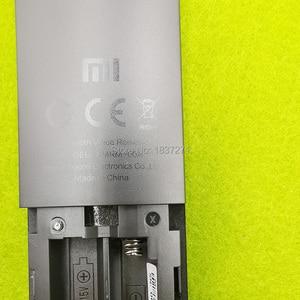 Image 5 - Controle remoto de voz original XMRM 00A para xiaomi mi tv 4x 50 L65M5 5SIN 4k 43 polegadas led tv com google assistente