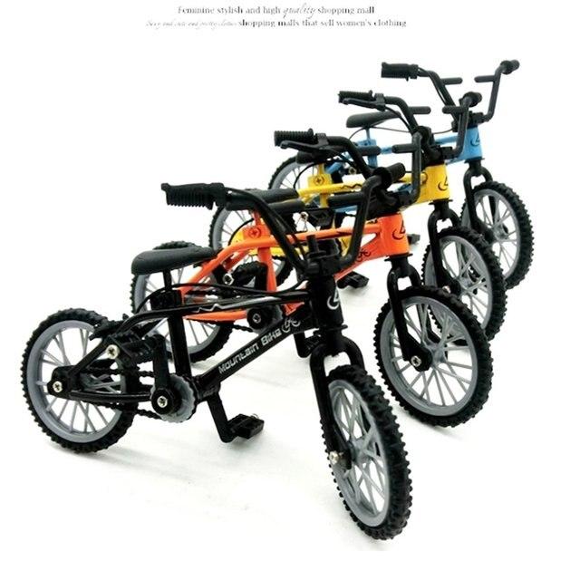 1pcs Mini-finger-bmx Set Bike Fans Toy Alloy Finger BMX Functional Kids Bicycle Finger Bike Excellent Quality Bmx Toys Gift