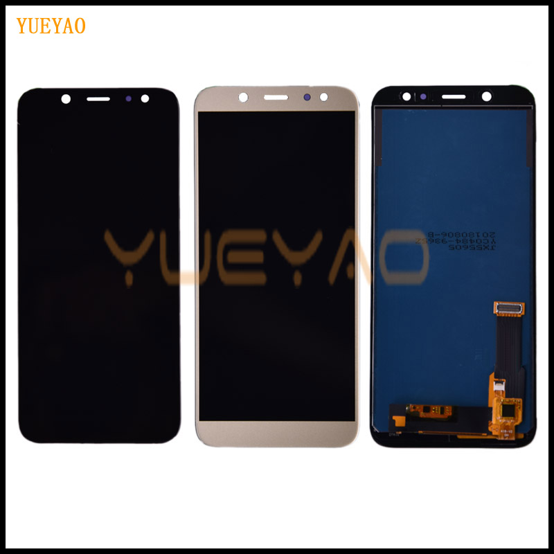 Tested LCD For SAMSUNG Galaxy A6 2018 LCD Display A600 SM-A600F A600FN LCD Display and Touch Screen Digitizer Assembly