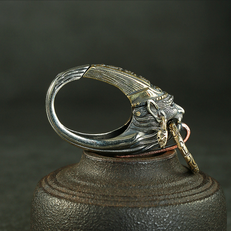 brass ghost keychain (7)