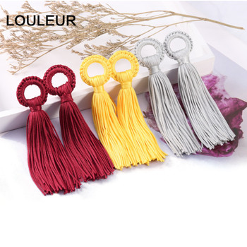 6pcs/lot 11cm Colorful Cotton Silk Tassels Fringes Brush for Earring Charms Pendants DIY Jewelry Making Findings Handmade Crafts