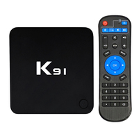 K91 Smart TV Box Video Player Android 7.1 S905L Quad Core 64 Bit 1GB+8GB UHD 4K Media Player VP9 H.265 2.4G WiFi