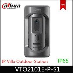 Dahua VTO2101E-P -S1 IP вилла уличная станция VTO2101E-P модель обновления, панель из цинкового сплава, IP65,IK10 система внутренней связи