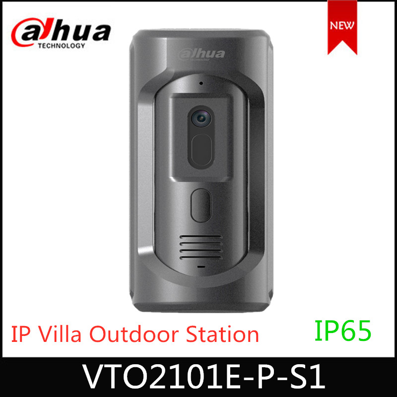 Dahua VTO2101E-P -S1 IP Villa Outdoor Station VTO2101E-P Upgrade Model , Zinc Alloy Panel, IP65,IK10  Intercom System