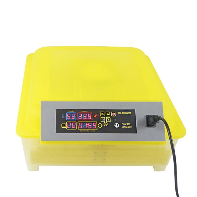 48 инкубатор для яиц цифровой полностью автоматический мини инкубатор для яиц токарная машина - 2