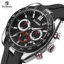Mens Watches Sport Top Brand Luxury Quartz Watch Army Military Men Chronograph Silicone Strap Relogio Masculino reloj hombre