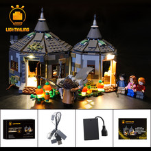 LIGHTAILING LED Light Kit For Hagrid's Hut: Buckbeak's Rescue Lighting Set Compatible With 75947 (NOT Include The Model)