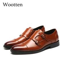 37 48 müßiggänger männer leder Marke elegante luxus classic Plus Größe Atmungsaktiv Komfortable mode männer casual schuhe #706