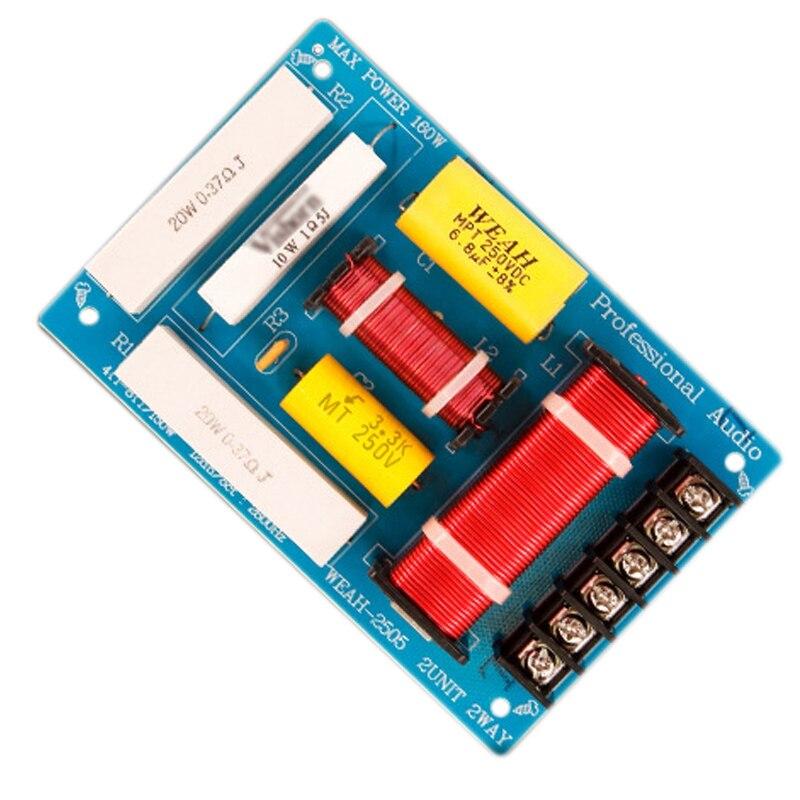 200W Lautsprecher Crossover 2 Weg High-Low 8 Ohm Frequenz Teiler für 10 Zoll Lautsprecher
