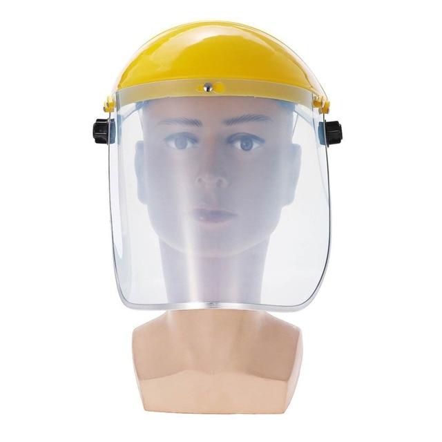 Protective Full Face Mask Welding Helmet Anti-UV Saliva Safety Anti Virus Shield Visor Workplace Protection Supplies 3