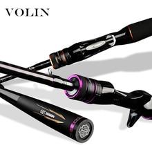 Volin NEW MOJO Cabon Fishing Rod 1.98m 2.13m Casting Rod Carbon Spinning Fishing Rod L/M/ML/MH Rock Fishing Rod Tackle