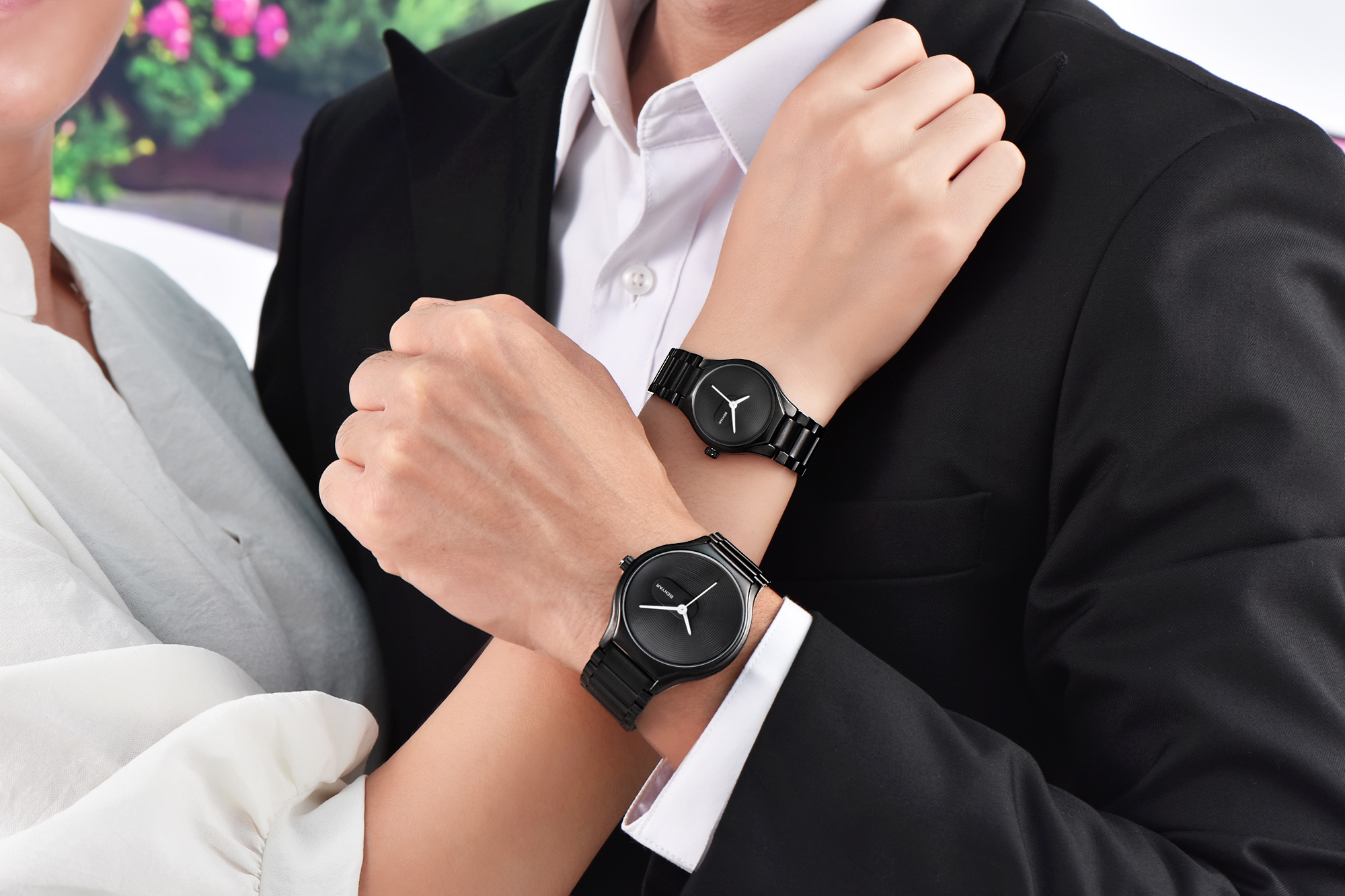 New Product BENYAR Top Brand Creative Quartz Watch Fashion Ultra-thin Tungsten Steel Belt Couple Waterproof Watch