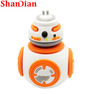 Image 5 - Shandianホット販売漫画フラッシュメモリusb 4 ギガバイト 16 ギガバイト 32 ギガバイト 64 ギガバイトスターウォーズロボットすべてのスタイルusb 2.0 ペンドライブpendriver