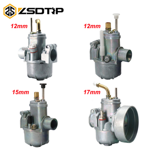 Image 1 - ZSDTRP New Carburetor Replacement Moped Bike fit Puch 12 15 17mm card Bing Style Carb for PUCH Bing SRC 1/17/54