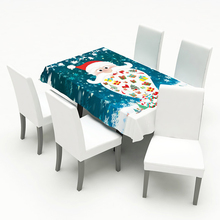 Christmas chair cover decorations for home Print Chair Cover Home Dining Elastic Covers dining covers