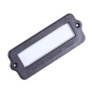 Image 5 - Testeur de capacité de batterie IC voltmètre indicateur 12V LY6W plomb acide LiPo LCD affichage capacité de la batterie compteur puissance détecter numérique
