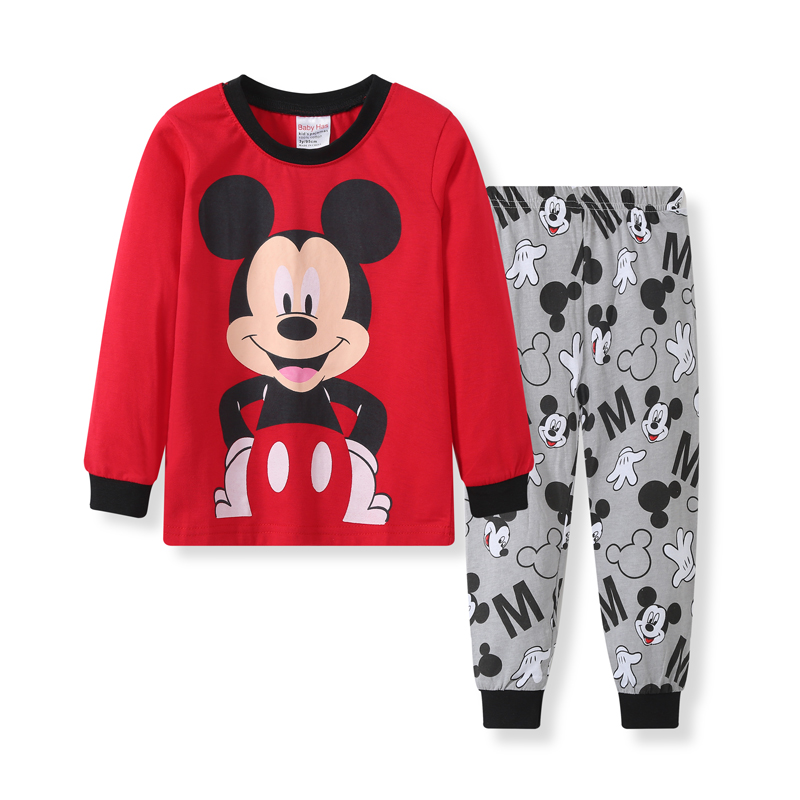 2019 Kids Pijama Boys Pijamas Spiderman Mickey Pyjama Baby Boy Christmas   Pajamas   Pyjamas Kids Toddle Homewear   Sets   Sleepwear