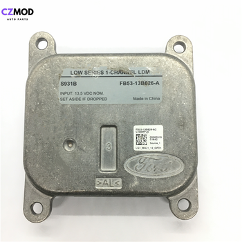 CZMOD Original FB5313B626A LOW SERIES 1-CHANNEL LDM LED control unit for Explorer Fog Light FB53-13B626-A S931B used